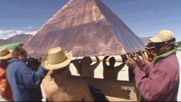 modern tribalism desert pyramid