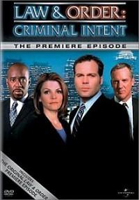 Law and Order: Criminal Intent: Premiere Episode DVD