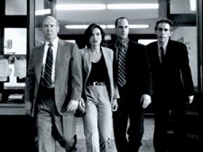 Florek, Hargitay, Meloni and Belzer from Law and Order: SVU