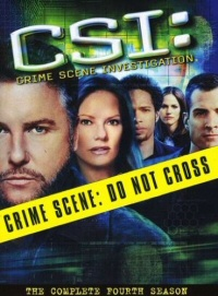 CSI: The Complete Fourth Season DVD