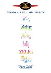 Zelig DVD cover art