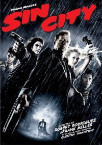 Sin City DVD cover art