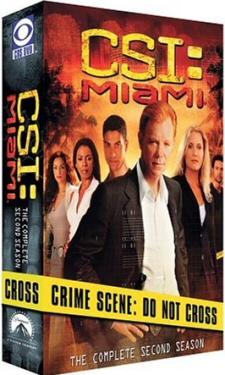 CSI Miami: Season 2 DVD