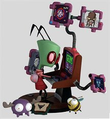 Invader Zim action figure