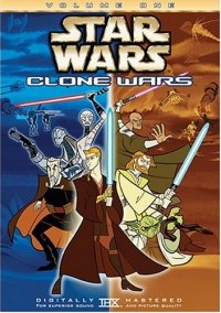 Star Wars: Clone Wars, Vol. 1 DVD cover art