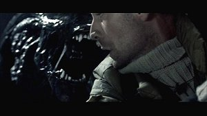 Alien from Aliens vs. Predator