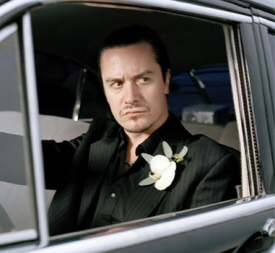 Mike Patton in car