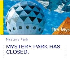 Erich von Daniken's Mystery Park has closed