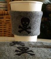Pirate coffee cuff
