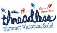Threadless summer vacation sale