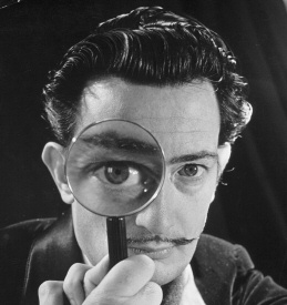 Salvador Dali: Magnifying Glass