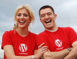 Wordpress red shirts