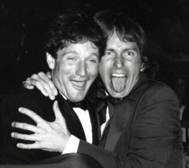 Robin Williams and John Ritter