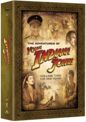 The Adventures of Young Indiana Jones, Vol. 2: The War Years DVD Cover Art