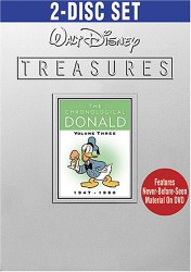Walt Disney Treasures: The Chronological Donald, Vol. 3 DVD cover art