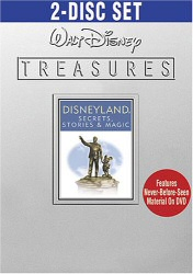 Walt Disney Treasures: Disneyland Secrets, Stories & Magic DVD cover art