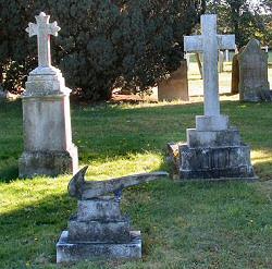 Laura Keeble's Graveyard Install