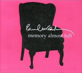 Paul McCartney: Memory Almost Full CD cover art
