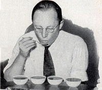 Official coffee taster for Uncle Sam
