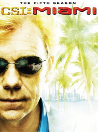 CSI: Miami The Complete Fifth Season DVD box cover art