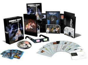 Family Guy: Blue Harvest Region 2 Special Edition DVD cover art