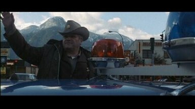 Brian Dennehy as Sheriff Teasle in First Blood