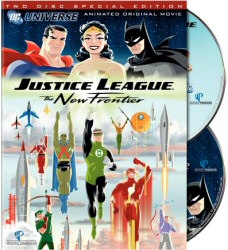 Justice League: The New Frontier 2-Disc Special Edition DVD cover art