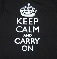 Keep Calm and Carry On by Yes No Maybe
