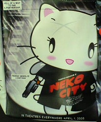 Neko City mashup handbag