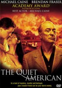 The Quiet American DVD box art