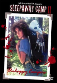 Sleepaway Camp 2 DVD cover art