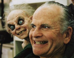 Ian Holm wants you to say hello to his leetle friend.