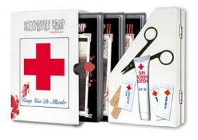 The Sleepaway Camp Survival Kit DVD set cover art