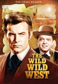 Wild Wild West Complete Third DVD box cover art