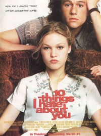 10 Things I Hate About You movie poster art