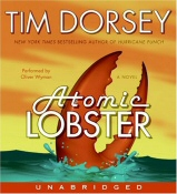 Atomic Lobster by Tim Dorsey Audiobook Cover Art