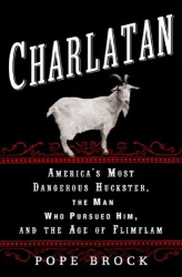 Charlatan book cover art