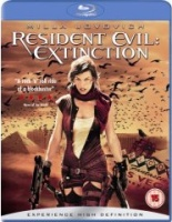 Resident Evil: Extinction Region 2 Blu-Ray DVD cover art