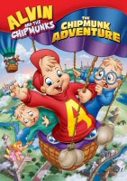 Alvin and the Chipmunks: The Chipmunk Adventure DVD Cover Art