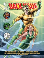 "TwoMorrows Back Issue 27 ""Comic Book Royalty"" Issue Cover Art"