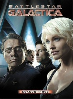 Battlestar Galactica Season Three DVD Cover Art