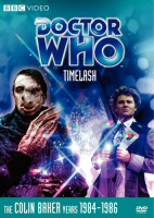 Doctor Who Timelast DVD Cover Art
