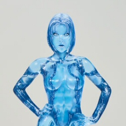Halo 3 Series 1 Cortana action figure by McFarlane Toys