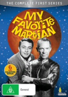 My Favorite Martian: The Complete First Series DVD cover art