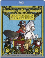 The Adventures of Baron Munchausen, Blu-Ray DVD cover art