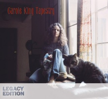 Tapestry the Legacy Edition by Carole King CD Cover Art