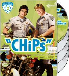 CHiPs The Complete Second Season DVD Cover Art