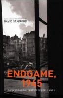 Endgame, 1945 book cover art