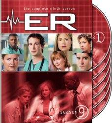 ER Season 9 DVD Cover Art