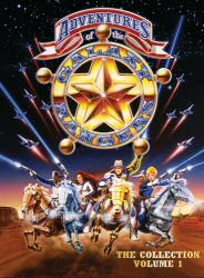 Adventures of the Galaxy Rangers The Collection Volume 1 DVD Cover Art